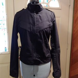 H&M - black jacket with zipper